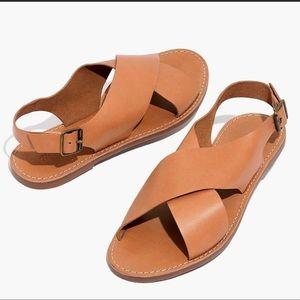 Madewell Boardwalk Crossover Sandal